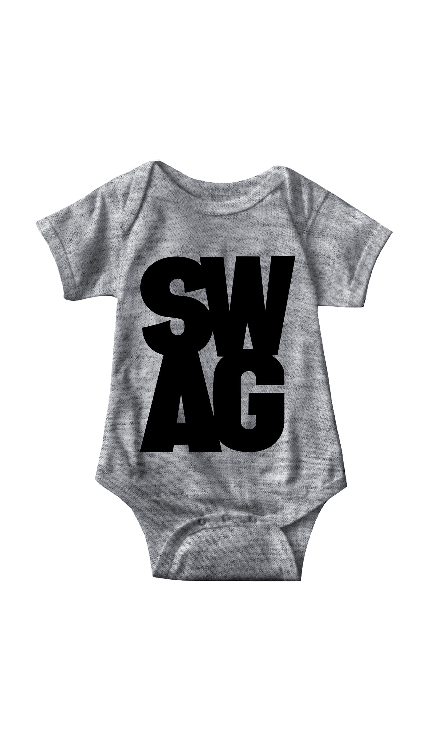 Swag Gray Infant Onesie | Sarcastic ME