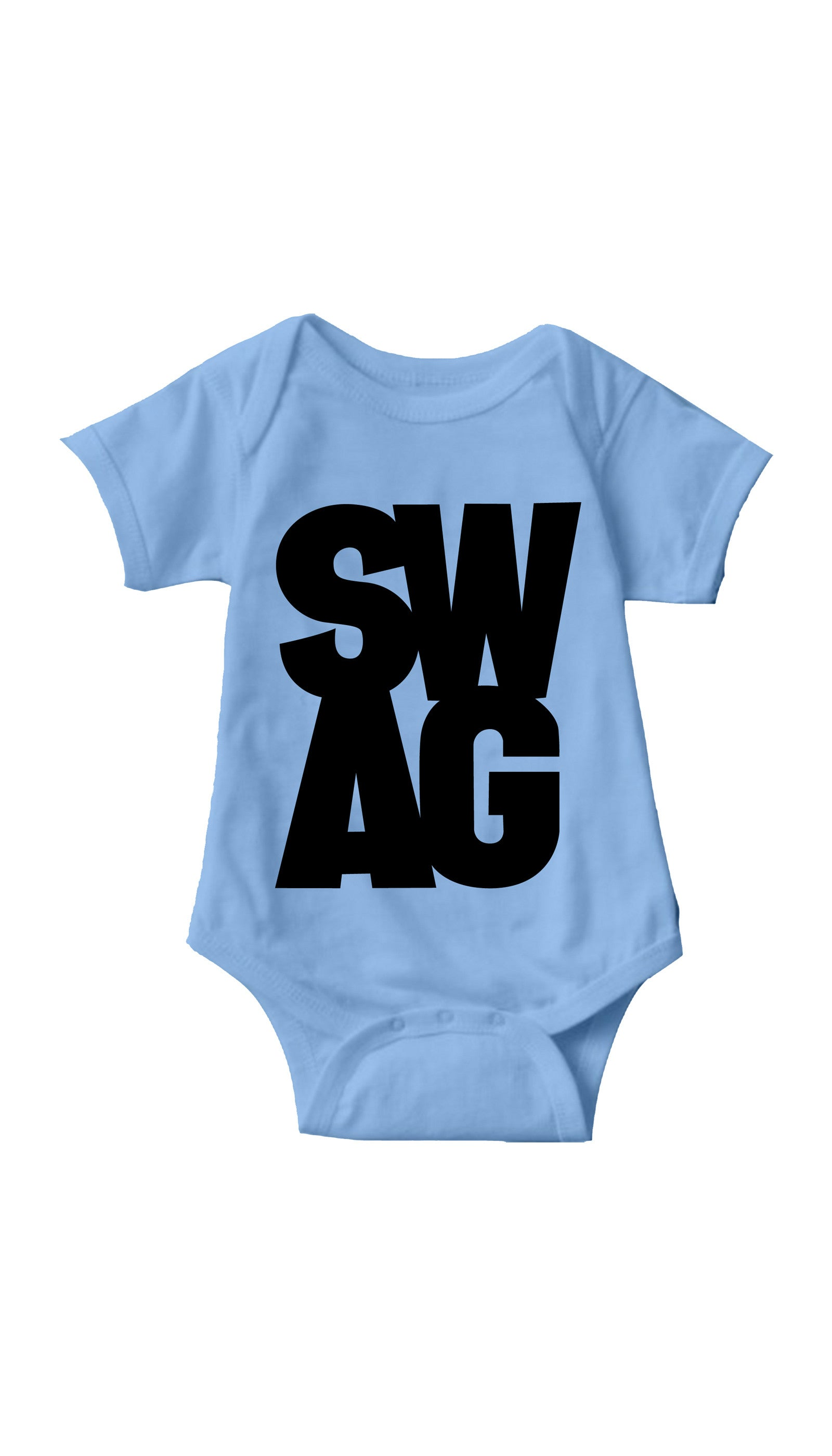 Swag Light Blue Infant Onesie | Sarcastic ME