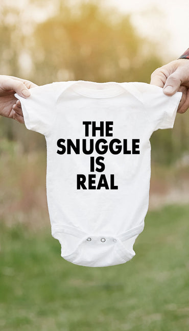 The Snuggle Is Real Infant Onesie