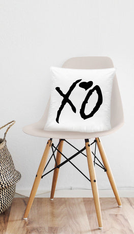 XO Hugs And Kisses Cute Home Throw Pillow Gift | Sarcastic ME