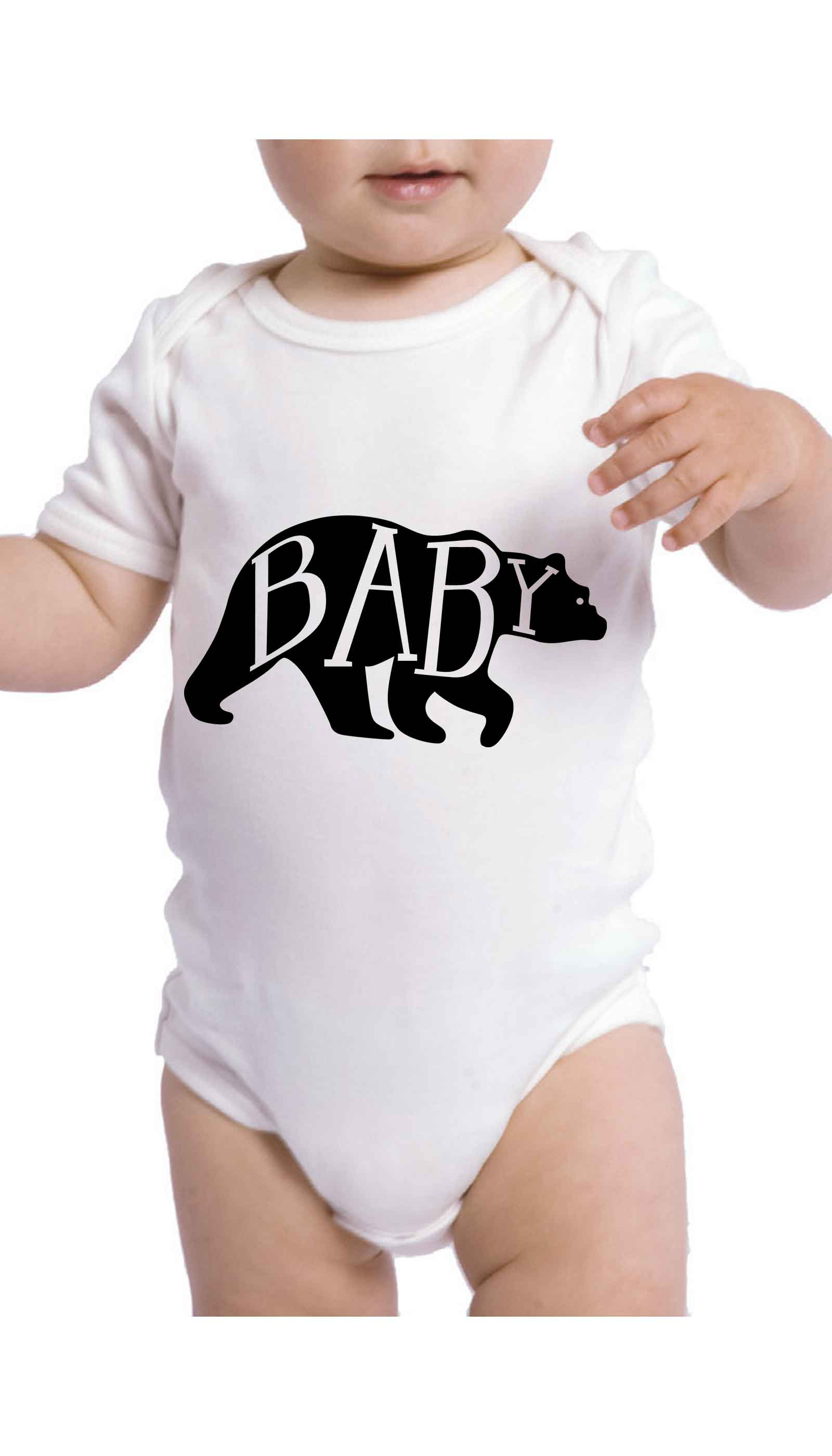Baby Bear Cute & Funny Baby Infant Onesie