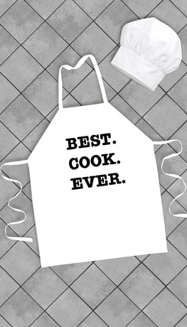 Best Cook Ever Funny Kitchen Apron | Sarcastic Me