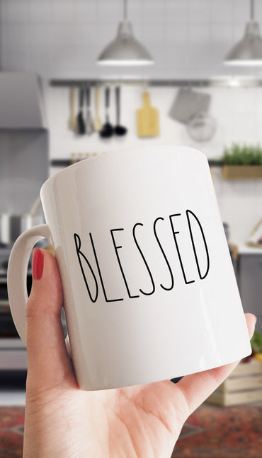 Blessed Funny & Clever Office Coffee Mug | Sarcastic ME