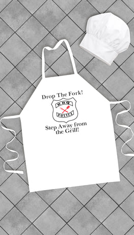 Drop The Fork Funny Kitchen Apron | Sarcastic Me