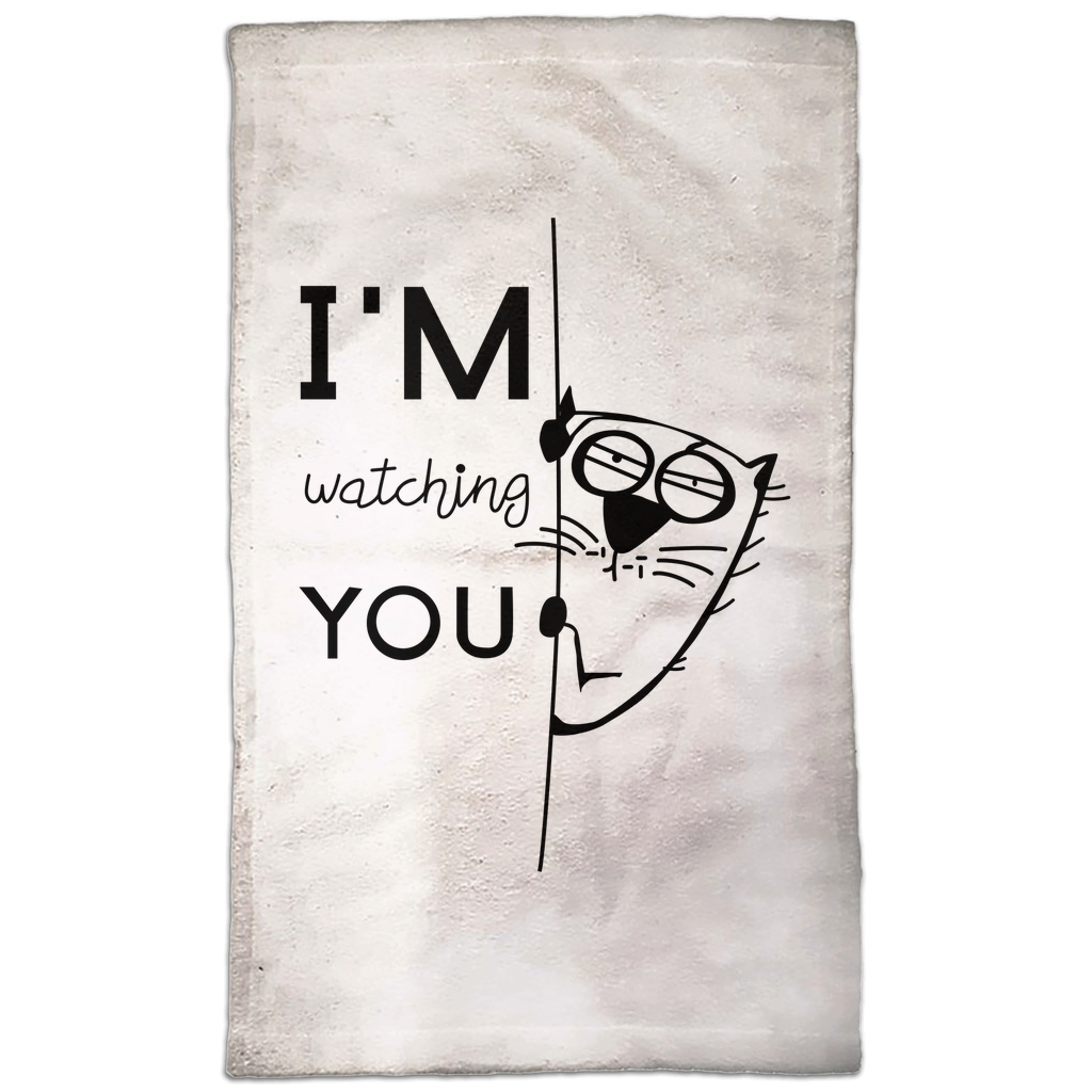 I'm Watching you Hand Towel