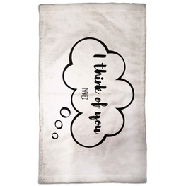 I Think Of You Naked Hand Towel