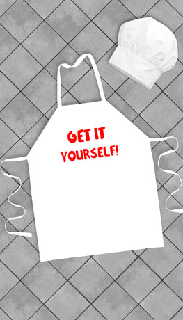 Get It Yourself Funny Kitchen Apron | Sarcastic Me