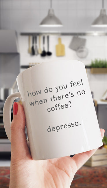 How Do You Feel White Mug | Sarcastic ME