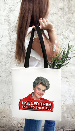 I Killed Them All Funny & Clever Tote Bag Gift | Sarcastic ME