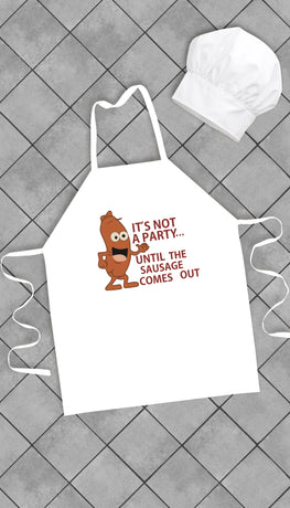 It's Not A Party Funny Kitchen Apron | Sarcastic Me