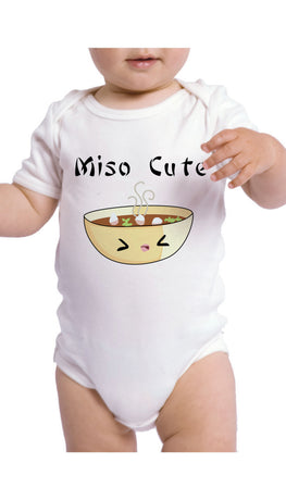 Miso Cute Funny Infant Onesie