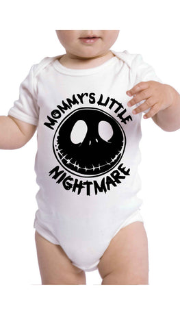 Mommy's Little Nightmare Cute & Funny Baby Infant Onesie | Sarcastic ME