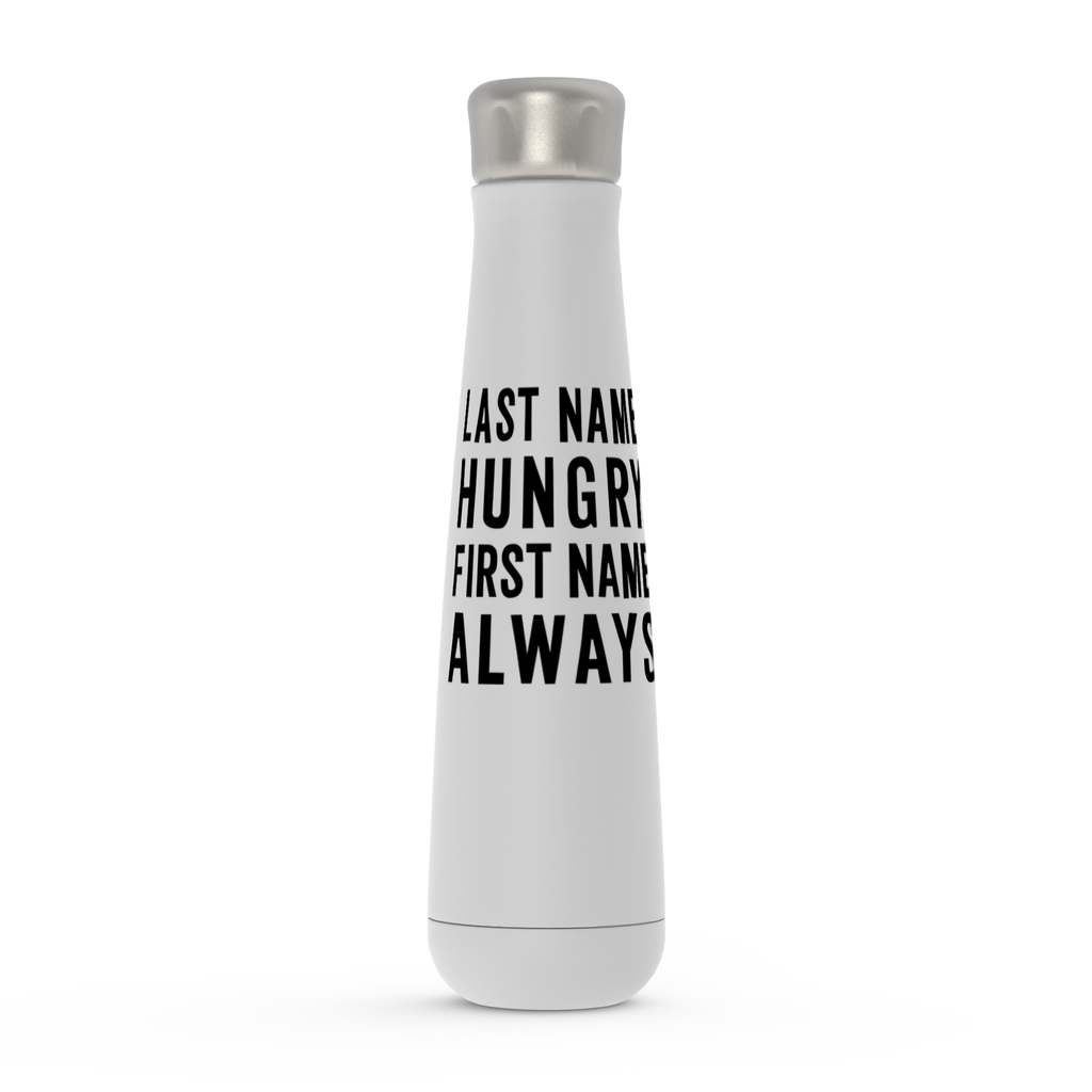 Last Name Hungry First Name Always Peristyle Water Bottles