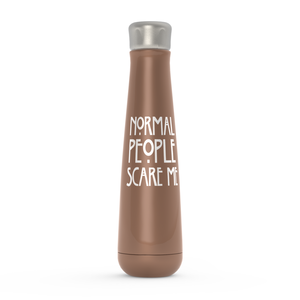 Normal People Scare Me Peristyle Water Bottles