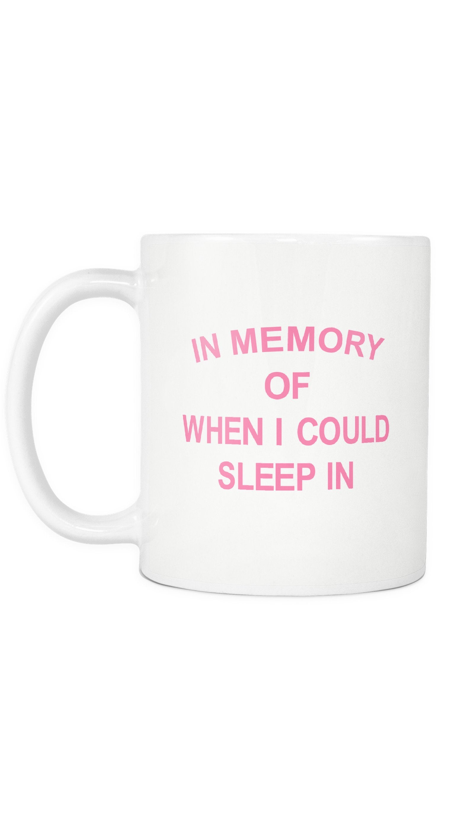 In Memory Of When I Could Sleep In | Sarcastic ME
