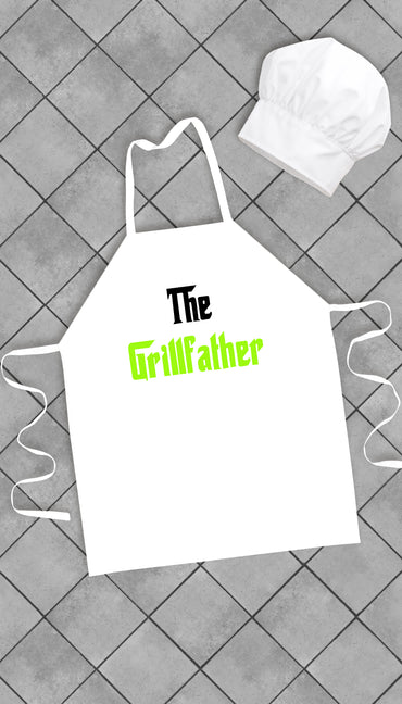 The Grillfather Funny Kitchen Apron | Sarcastic Me