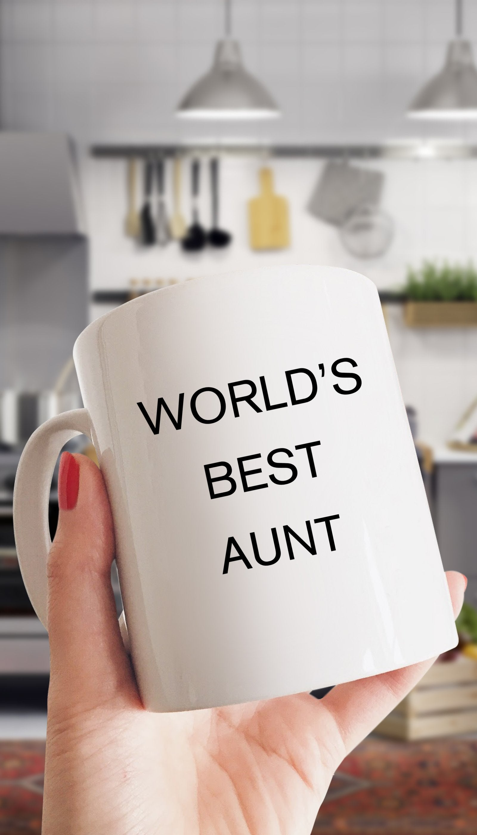 World's Best Aunt White Mug | Sarcastic Me