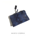 GIGI CLUTCH BLUE SNAKE