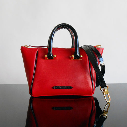ALLEGRA MINI SATCHEL RED