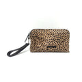 GIGI SMALL CLUTCH BLACK+CHEETAH