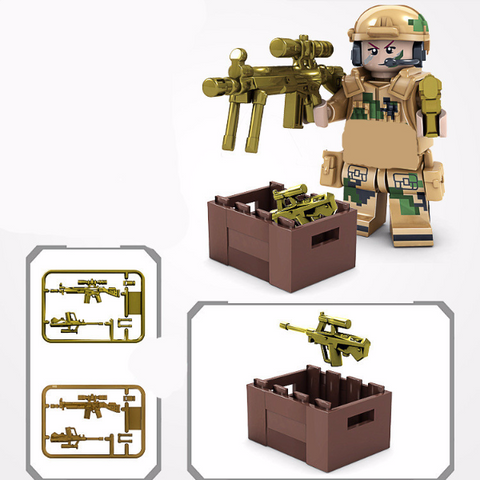 Navy Seal Mini-figures - CLEARANCE