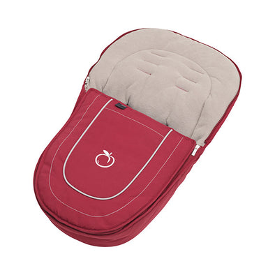 Peach Jogger Footmuff - Cranberry