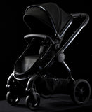 Peach Cerium Pushchair & CCFabric (Black)