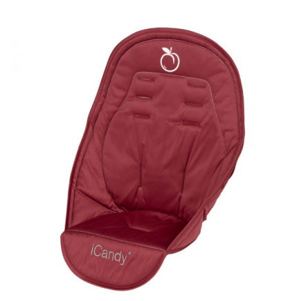 Peach Jogger Seat Liner - Cranberry
