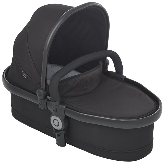 Peach Twin Cot - Jet (Black)