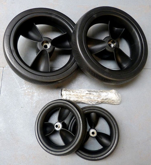 PEACH EVA WHEELS - FULL SET