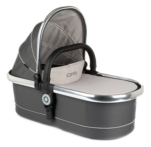 Peach Main Carrycot Truffle 2 - Chrome