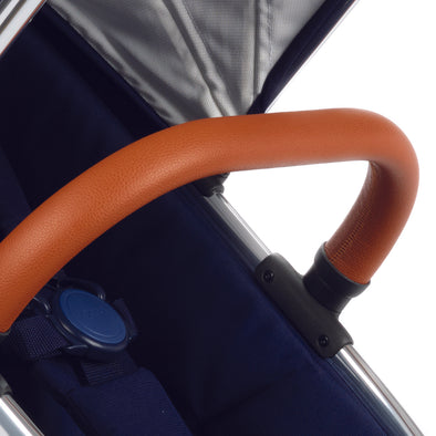 Peach Bumper Bar Tan Leatherette