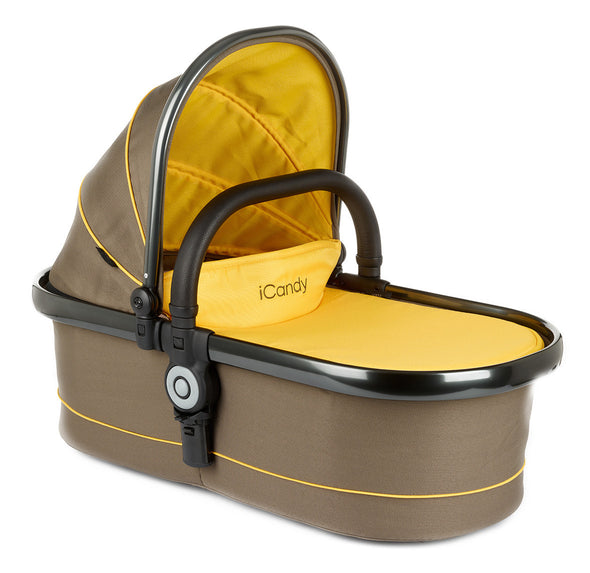 Peach Main Carrycot Honeycomb - Space Grey