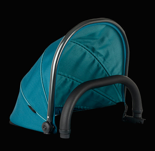 Peach Main Carrycot Companion Peacock