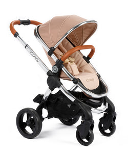 Peach Pushchair Butterscotch - Chrome