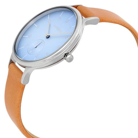 Skagen Anita Blue Dial Ladies Casual Watch SKW2433 - The Watches Men & Co - 2