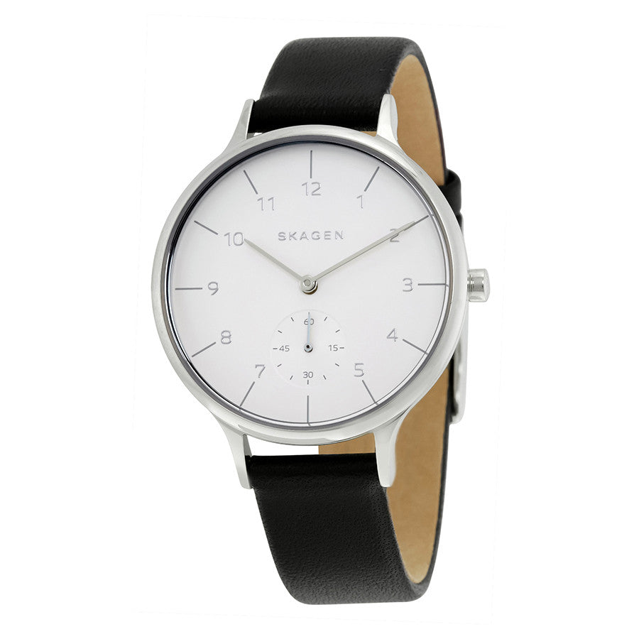Skagen Anita Silver Dial Ladies Casual Watch SKW2415 - The Watches Men & Co - 1