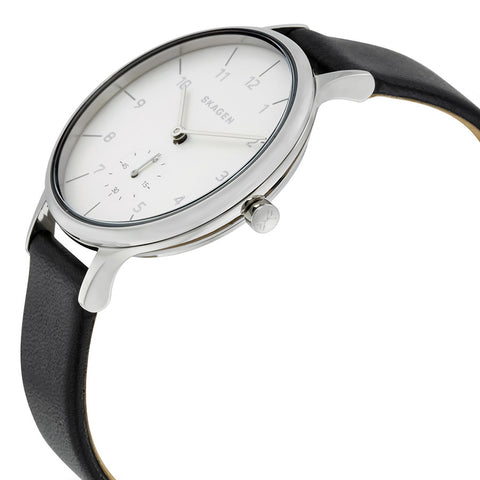 Skagen Anita Silver Dial Ladies Casual Watch SKW2415 - The Watches Men & Co - 2