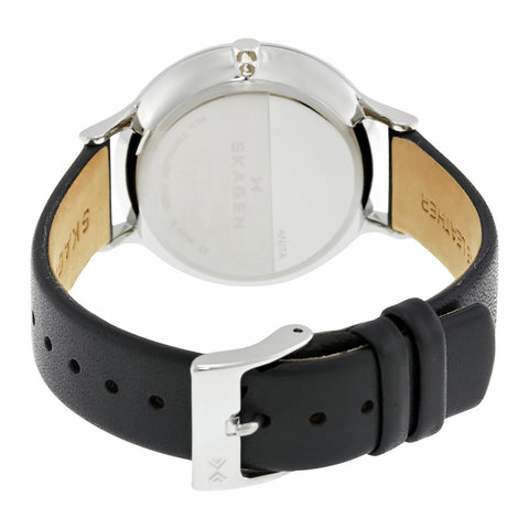 Skagen Anita Silver Dial Ladies Casual Watch SKW2415 - The Watches Men & Co - 3