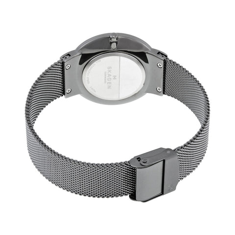 Skagen Freja Smoke Dial Two Tone Ladies Watch SKW2382 - The Watches Men & Co - 3