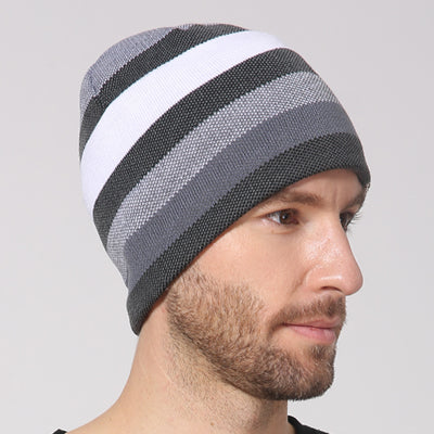 winter knitted hat for men