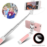Wired Candy Selfie Stick For iPhone Android