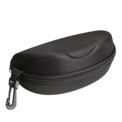 Eye Glasses Hard Case With Zipper Black