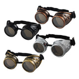 Vintage Steampunk Goggles Glasses for Men and Women - 4PointsShop