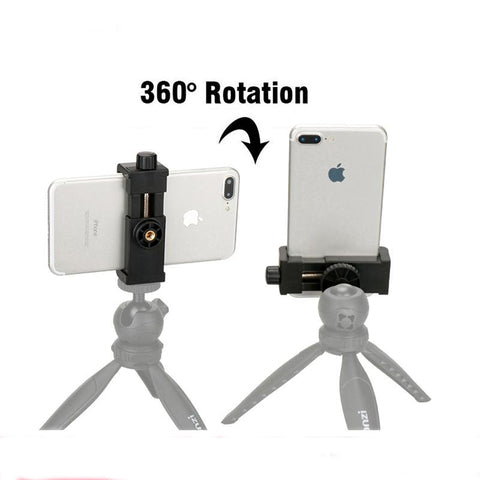 Universal Cell Phone Tripod 360 Degree Adjustable For Smartphone