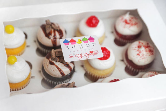 We Recommend A Dozen Of Our Deliciously Dangerous Mini Sized Cupcakes If You Are Small Group Visiting Las Vegas