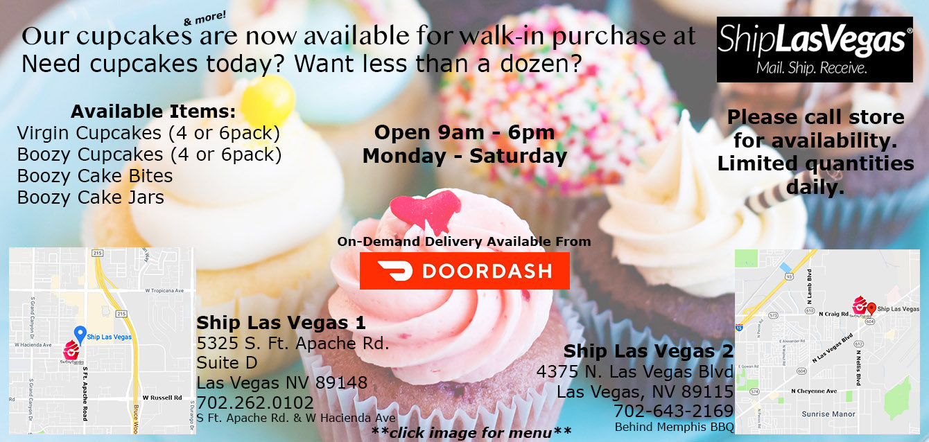 Order Sin City Cupcakes