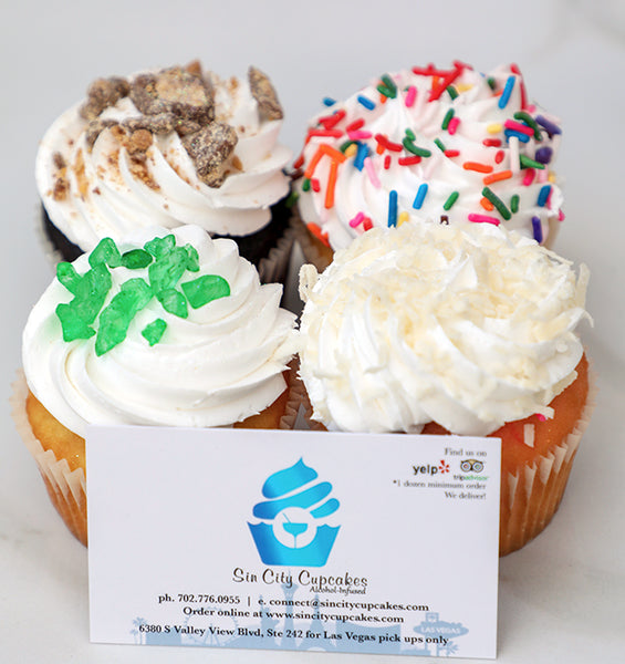 Bakers Choice Sin City Cupcakes Las Vegas