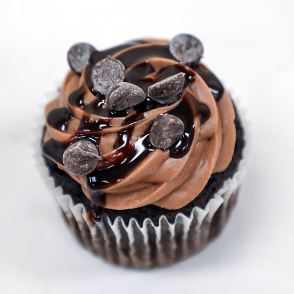Gluten Free Chocolate Wasted Sin City Cupcakes