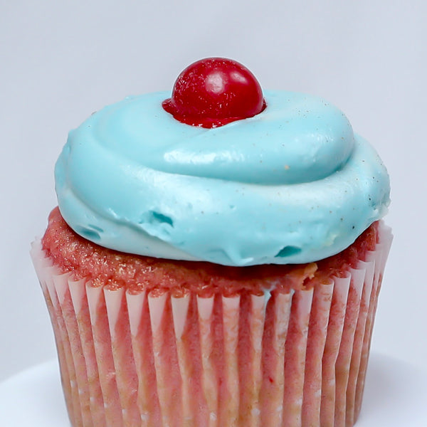 Red Bull Cherry Bomb Alcohol Infused Sin City Cupcakes Las Vegas